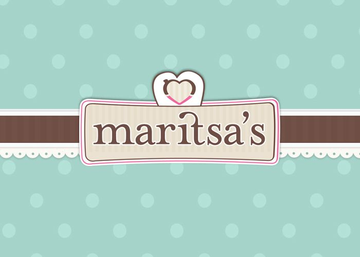 Allegria Web Agency in Greece | Κατασκευή Ιστοσελίδας. Re-branding for Maritsa's Tailor made services. French style, frames, ribbons, dots and girly look for our girl Maritsa.