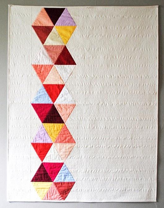 Love this modern quilt!