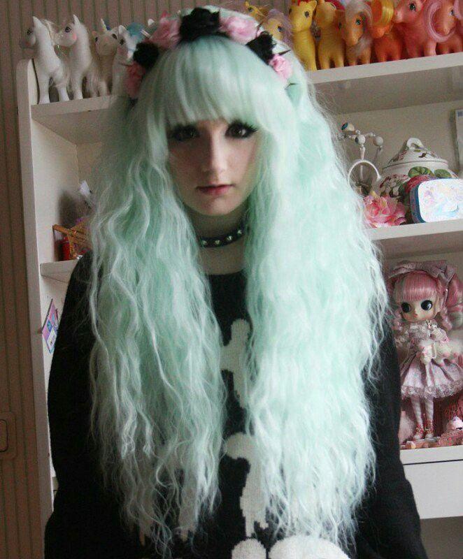 #Pastel gothc style ♡_♡