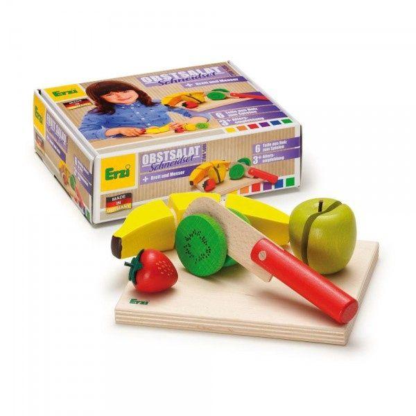 Akcesoria do zabawy w gotowanie Erzi - Sałatka owocowa