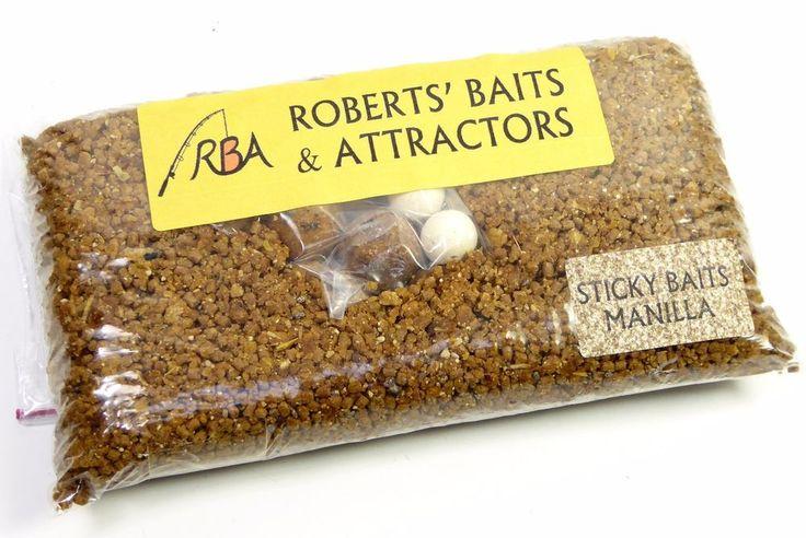 STICKY BAITS Manilla High Grade 3-Way Loose Stick Mix Carp Fishing Bait STMB33 #Sticky