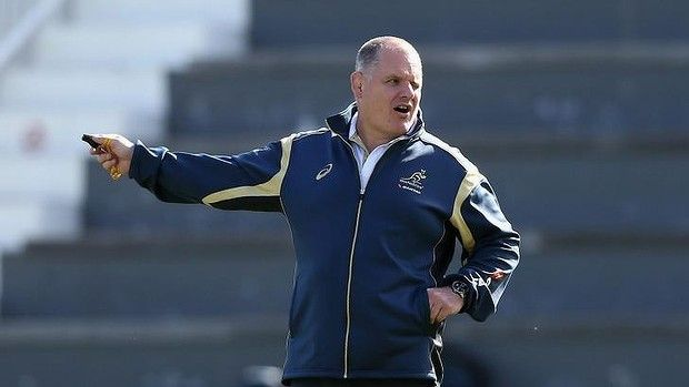 Rough start: Ewen McKenzie's stint as Wallabies coach is far from a success so far.