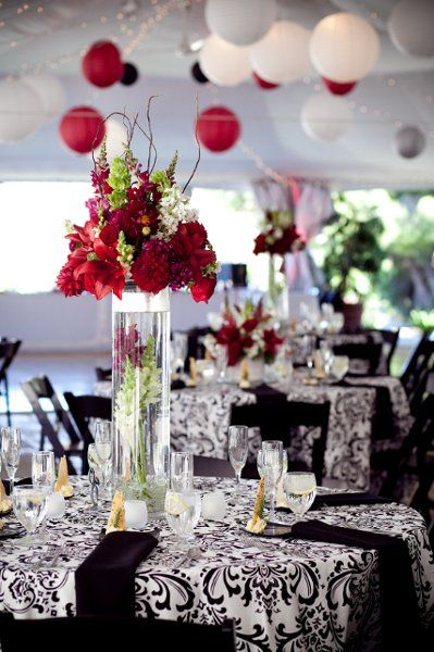 Best images about red white and black wedding theme on