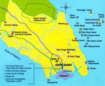 Endau Rompin National Park | View of Endau-Rompin National Park from the top of Janing Barat