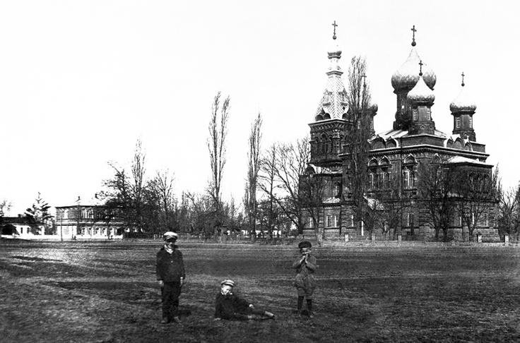 Свято-Покровская церковь. Ст. Абинская. 1932 г.