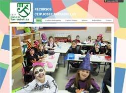 Recursos en Inglés, Lengua y Matemáticas en la web del colegio Josep Tarradellas