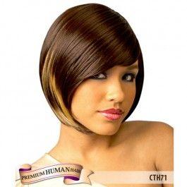 Cutie Human Hair Wig - CTH71