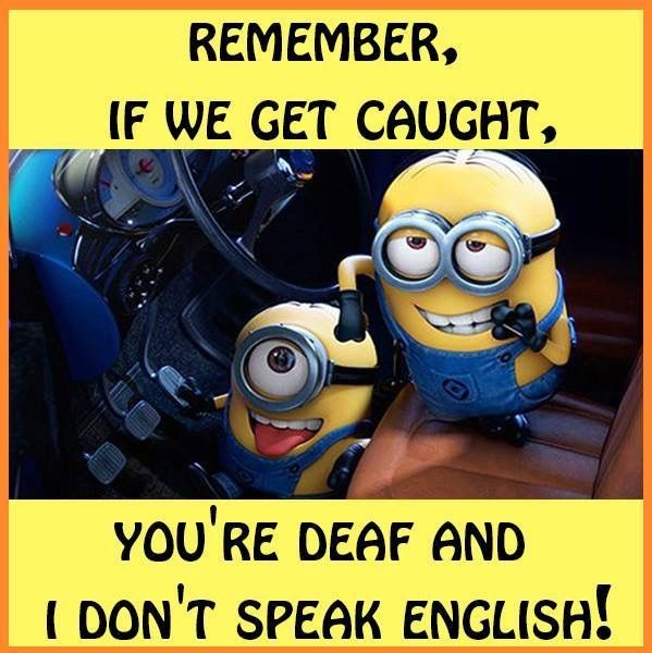 I'm the deaf one cuz I already know Asl and I'm bff is good at speaking another language