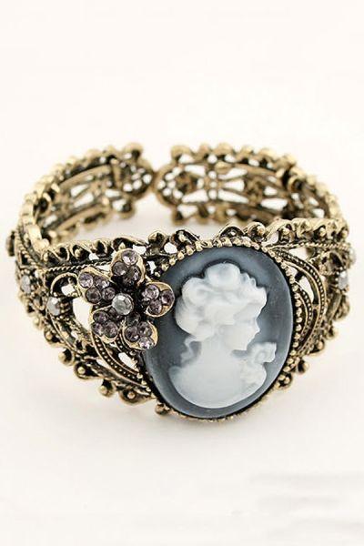 Antique Cutout Bracelet