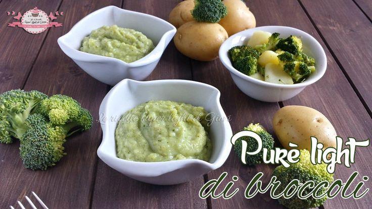 Purè light di broccoli (210 calorie)