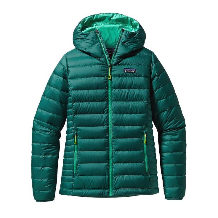 Patagonia Women\'s Down Sweater Hoody - Arbor Green ABRG