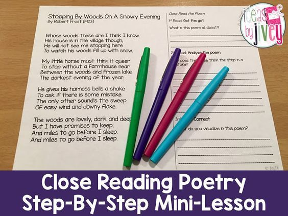 Use Poetry to Teach Close Reading Strategies with Ideas By Jivey (scheduled via http://www.tailwindapp.com?utm_source=pinterest&utm_medium=twpin&utm_content=post55771420&utm_campaign=scheduler_attribution)