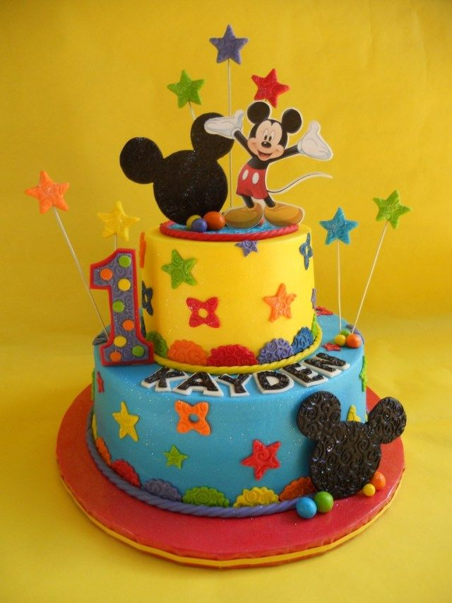 Incredible 32 Pretty Image Of Mickey Mouse Clubhouse Birthday Cake Mickey Funny Birthday Cards Online Alyptdamsfinfo