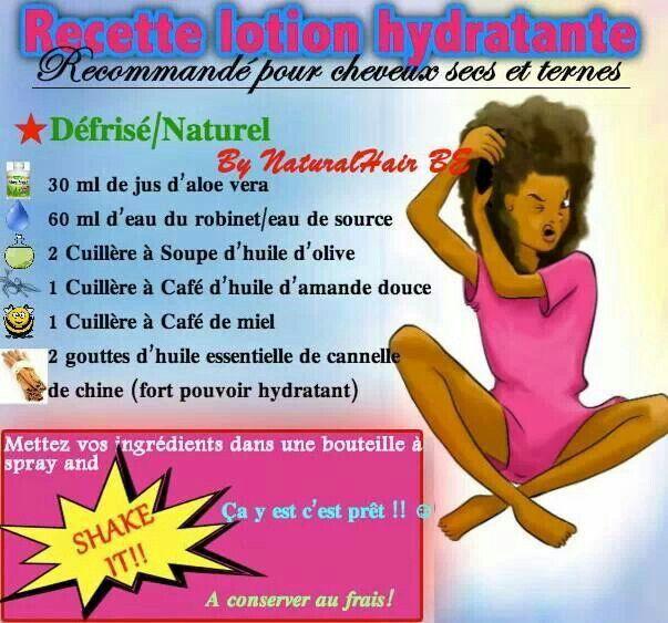 Recette lotion hydratante