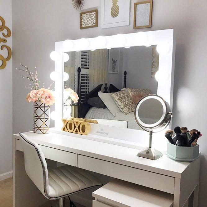 Bathroom Makeup Vanity Pictures