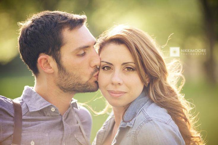 Tyler & Lucille's Sunny Spring Engagement Shoot, Pioneers Park, Lincoln – Nebraska Wedding Photographer » nikki moore photography