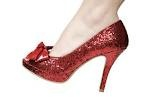 Cute pair of ruby slippers