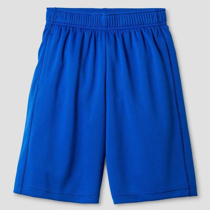 Boys' Activewear Shorts Cat & Jack Blue Streak Xxl, Boy's