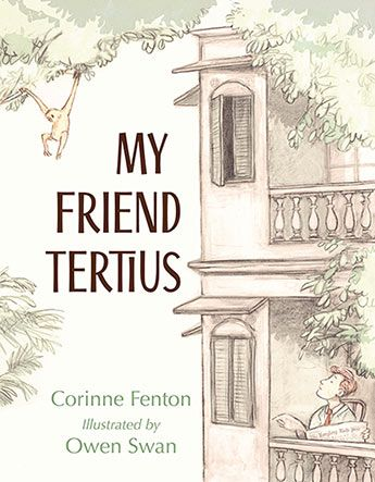 My Friend Tertius is not only a wonderful new story from Corinne Fenton, it is testament to the determination of a writer whose belief in a project saw its fruition after many years. Owen Swan's limited colour palette is the perfect counterpoint to a story set against the backdrop of WWII.