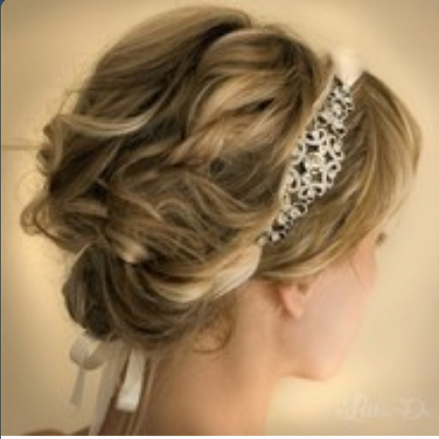 Elegant yet relaxed bat mitzvah hairstyle with a beautiful