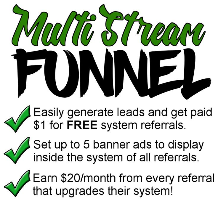 Earn MULTIPLE STREAMS of income on auto pilot!