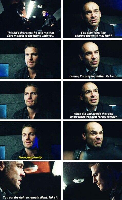 Oliver & Captain Lance #Arrow #3x18 #Season3