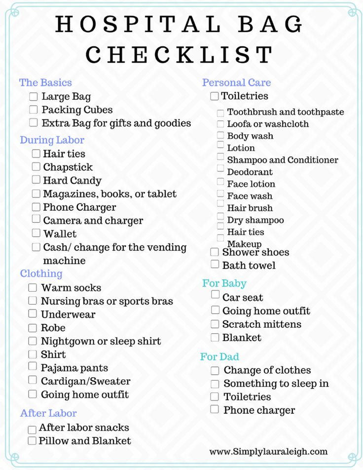 Getting ready to pack your Hospital Bag? Check out what I'm taking with me the second time around. Don't forget to download the FREE Hospital Bag Checklist I've provided!!!!!