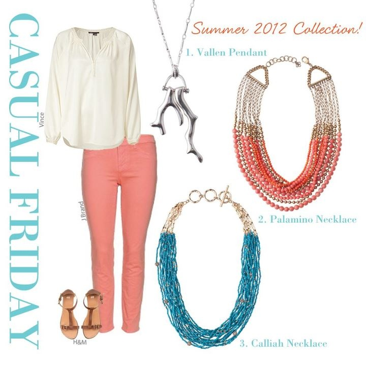 Casual Friday: Finish The Look!   A Summer state of mind