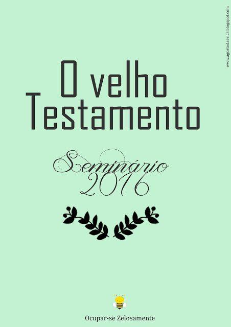 As Tontas Vão Ao Céu: Seminário - Caderno de Frequência (Velho Testament...