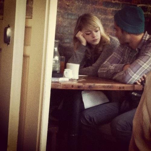 Emma Stone & Andrew Garfield- coffee date | OTPs ️ ... Andrew Garfield Date