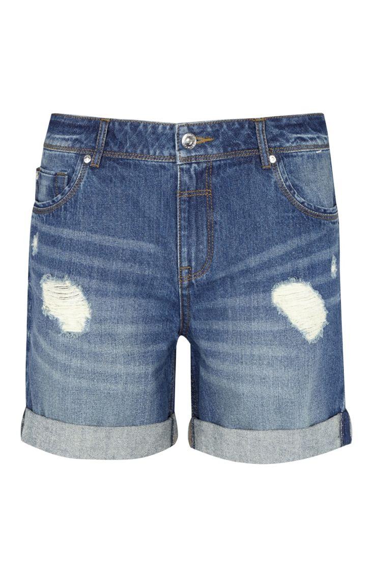 Primark - Shorts vaqueros «boyfriend» rasgados 13e