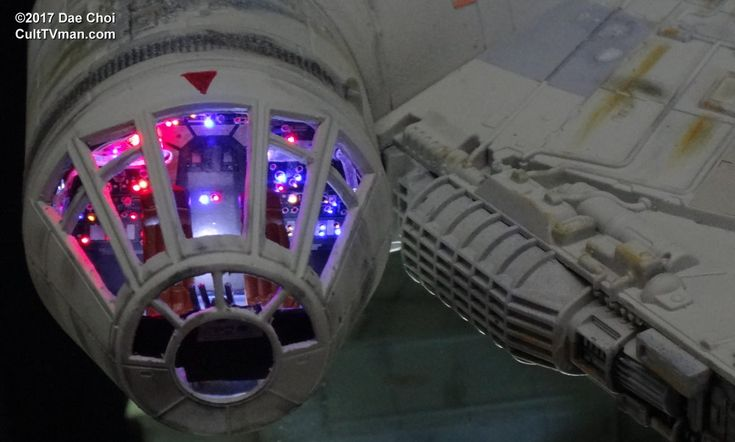 For more photos and info visit Dae Choi's Hasbro Millennium Falcon - http://culttvman.com/main/dae-chois-hasbro-millennium-falcon/