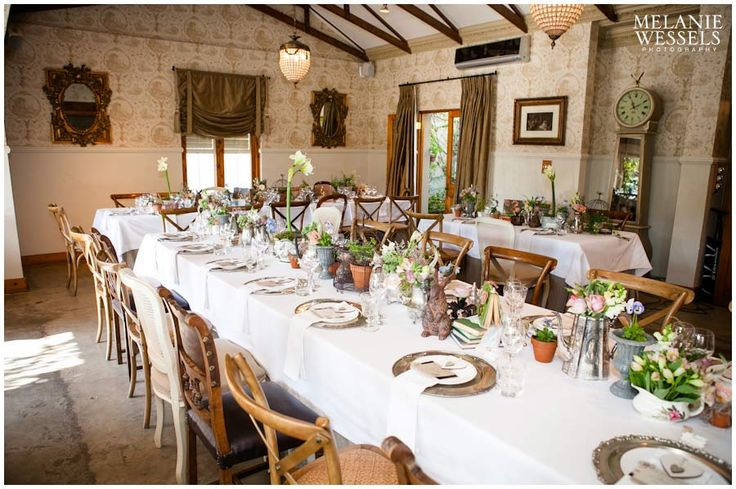 MORELLS BOUTIQUE VENUE | Fairlands | The Morrells estate and gardens is the perfect backdrop for an unforgettable wedding. The piano room or barn together with opulent finishes accentuate the unique experience of Morrells. (Photo Melanie Wessels)