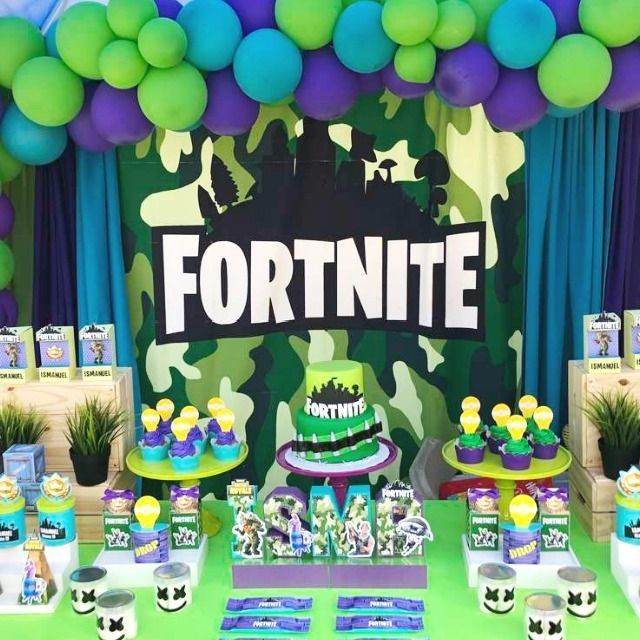 Catch My Party On Instagram This Party Is The Bomb View All 9 Cool Fo Birthday Party Planning Video Games Birthday Party 6th Birthday Parties