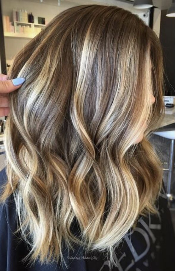 A More Natural Looking Way To Dye Your Hair Balayage Brown