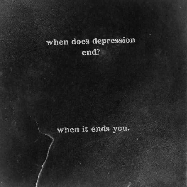 Deep Depressing Quotes: 17 Best Deep Depression Quotes On Pinterest