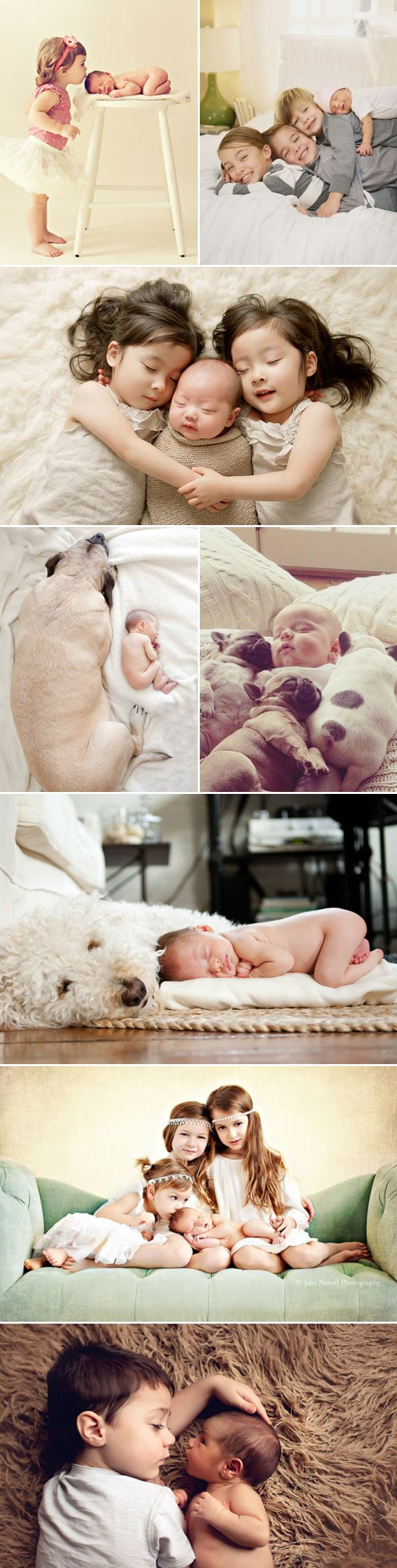 30 Love-Filled Photos Every Parent Must Take with their Newborn! Sibling love!