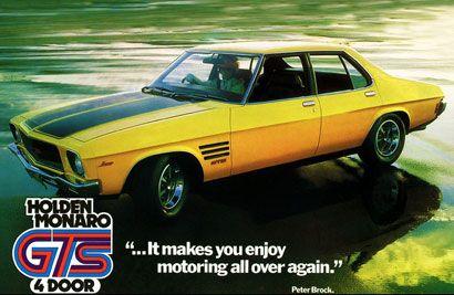 1973 Holden HQ Monaro GTS 4-door advert