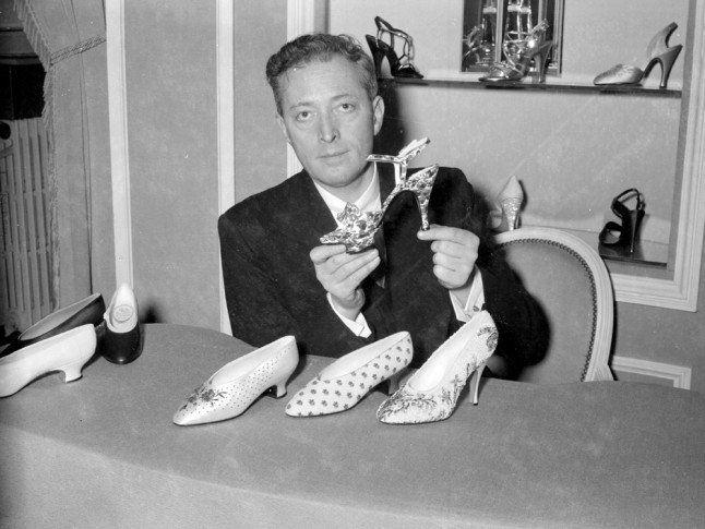 Roger Vivier, designer of the stiletto