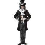 Crazy Dark Mad Hatter Fancy Dress Costume For Men