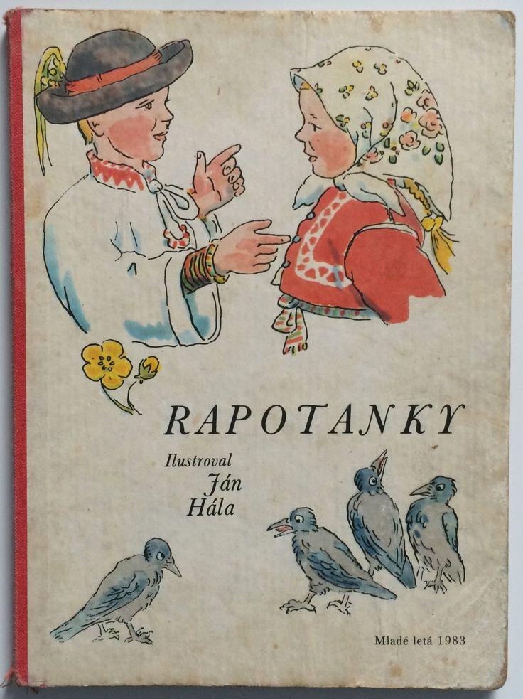 Mária Ďuríčková - Rapotanky, ilustrácie Ján Hála