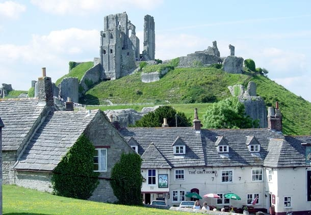 Corfe Castle is a thousand-year-old castle and an iconic survivor of the English Civil War.