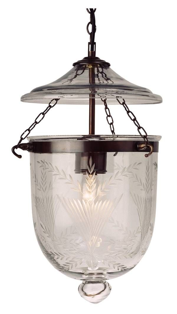 Georgian Lantern...with pretty Fern pattern
