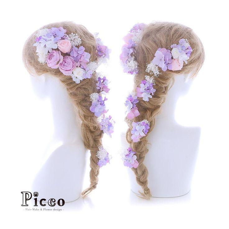 .  🌸 Gallery 662 🌸  .  【 結婚式 #髪飾り 】  .  #Picco #オーダーメイド髪飾り #ウェディングドレス #結婚式  .  ベビーピンクのプリザローズとをメインに、ブーケの配色に合わせてナチュラルな雰囲気に仕上げました💚💛💖 ✨  .  サイドからバックにかけてぐるりと盛ったハーフクラウンスタイルです😍💕 #ローズ  #プリザーブドフラワー  #ナチュラル  #ラプンツェル  #ウェディングヘア  .  デザイナー @mkmk1109  .  .  .  #ボタニカル #ヘッドアクセ #ヘッドドレス #花飾り #造花  #ドレスヘア #披露宴 #パーティー #プレ花嫁 #花嫁  #ウェディングフォト #flowercrown #結婚式髪型 #ドレス #プレ花嫁  #weddinghair #rose #pink #natural    #marry #marryxoxo