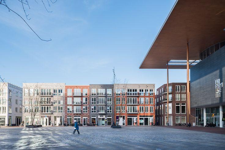 """Architectuurfotograaf Jacomien Boonstra van DAPh: """"Momenteel werk ik aan een nieuwe serie project panelen voor Ingenieursbureau Wassenaar. Voor deze opdrachtgever laat ik in mijn fotografie zo veel mogelijk de specifieke punten van het constructieve ontwerp zien."""""""