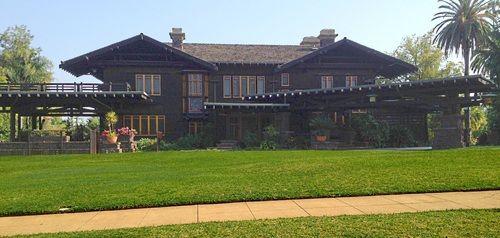 The Robert R Blacker House 1907 Pasadena California