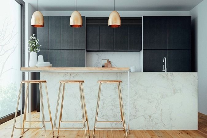 Copper and Marble Kitchen | Made From Scratch