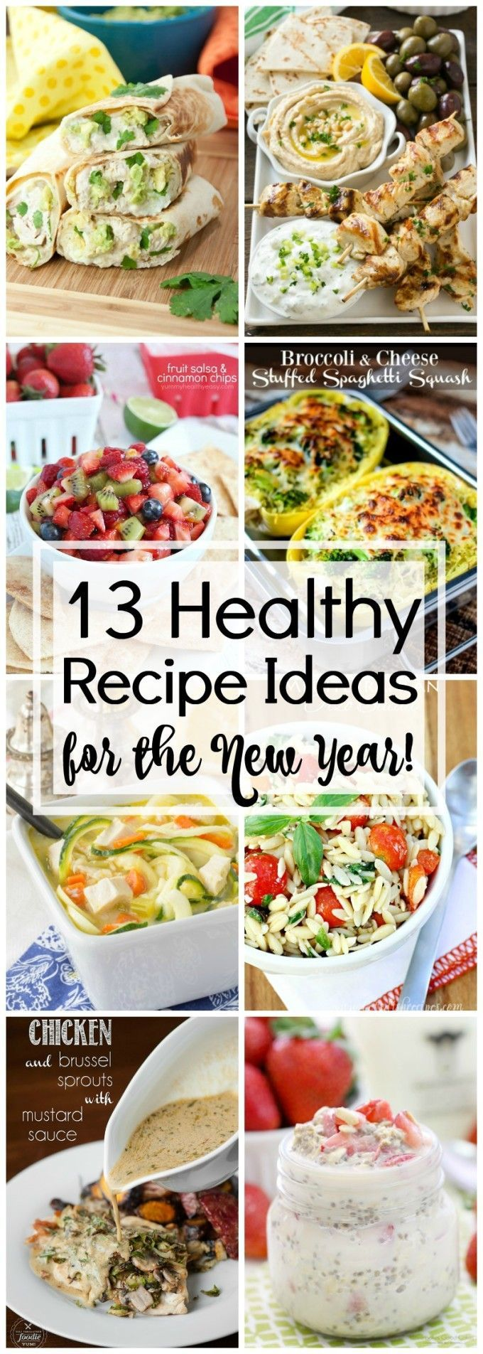 13 Healthy Recipe Ideas for the New Year - 13 amazing recipes to keep you on track!