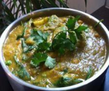 Green Vegetarian Curry