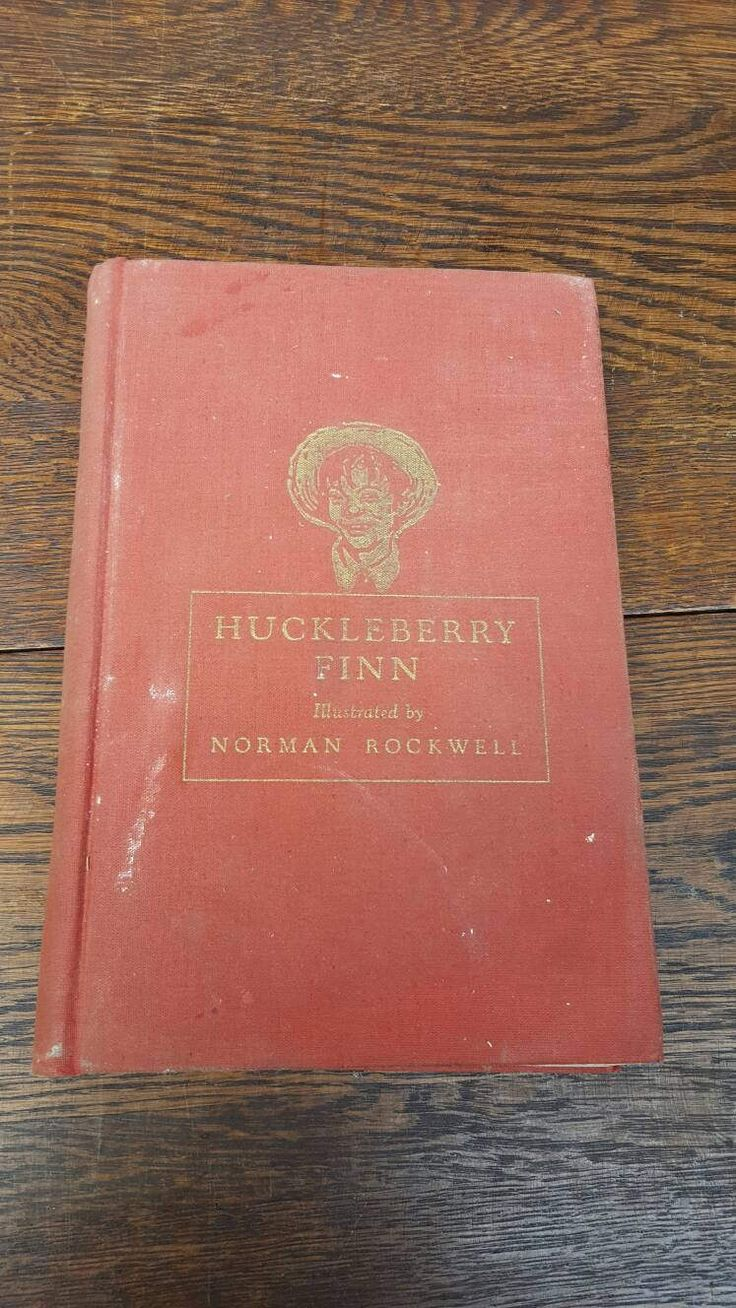 best ideas about huckleberry finn classic books 1940 s vintage huckleberry finn book illustrated by norman rockwell classic books red hardcover heritage press american bookshelf